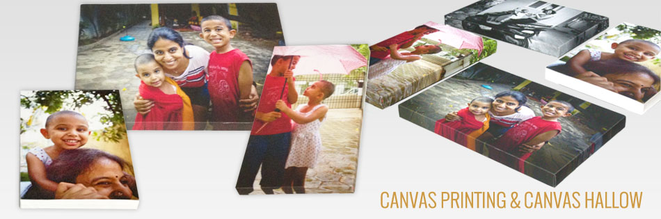 Canvas Printing and Canvas Hallow